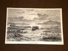 Nel Siam nel 1893 Il delta del Meinam Bangkok Thailandia