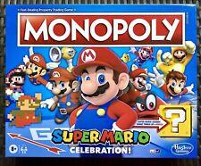 Monopoly Super Mario Brothers Celebration Board Game Hasbro Gaming Nintendo New