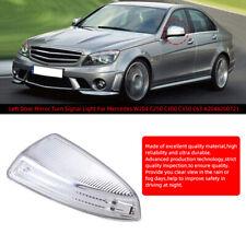 For Mercedes-Benz C-Class W204 C250 C350 Left LED Door Mirror Turn Signal Light