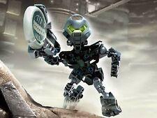 Lego 8609 Bionicle Metru Nui Matoran Tehutti complet à 100 % de 2004