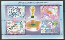 Mongolia 2006 Football FIFA World Cup Germany MNH Block