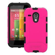 Trident Aegis Pink Rugged Cover Case for Motorola Moto G 1st Gen XT1028 XT1031