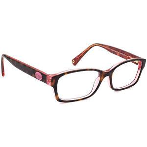 Coach Eyeglasses HC 6040 (Brooklyn) 5115 Tortoise/Pink Frame 52[]16 135