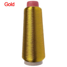 Metallic Yarn Sewing Machine Embroidery Thread Cross Stitch Gold/Silver Wire