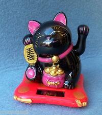 Chat Chat Clin D'oeil Solaire Noir 10 cm x 9 cm