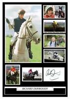 (#99) richard dunwoody signed a4 photograph (reprint) horse racing great gift ##