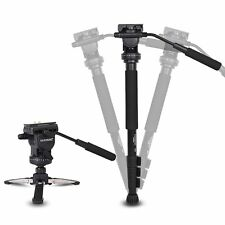 YUNTENG VCT-588 Pro Camera Fluid Drag Tripod Monopod for Canon Nikon Pentax DSLR