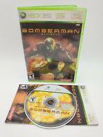Bomberman: Act Zero (Microsoft Xbox 360, 2006) Complete CIB, Bomber Man