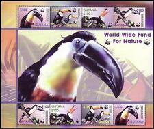 Birds Mint Never Hinged/MNH Guyanese Stamps