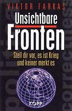 UNSICHTBARE FRONTEN - Viktor Farkas - Kopp Verlag BUCH