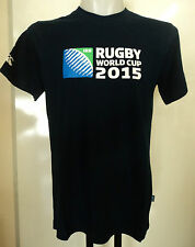 RUGBY WORLD CUP 2015  NAVY LOGO TEE SHIRT BY CANTERBURY SIZE SMALL BRAND NEW