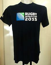 Coupe du monde de rugby 2015 S/S Logo Bleu Marine Tee Shirt Par Canterbury Taille adulte moyen