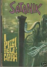 SATANIK    #  79   I PIZZI DELL' ARPA