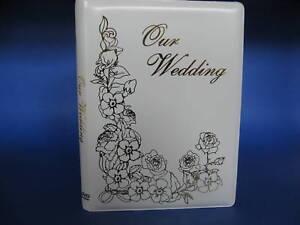 Wedding DVD Album - Single DVD / CD Event Holder  (New)