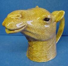 More details for quail ceramic camel half pint jug - wildlife animal figure, model or ornament