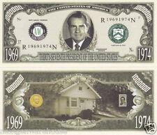 Richard M. Nixon 37th U.S. President Money Bill # P37