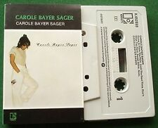 Carole Bayer Sager Self Titled You're Moving Out Today + Cassette Tape - TESTED