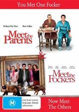 MEET THE PARENTS  / MEET THE FOCKERS (DVD, 2005, 2-Disc Set) (NEW) FREE POST