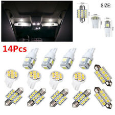 14X White LED Lights Car SUV Interior Package T10 & 31mm Map Dome For Chevrolet