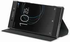 Sony Etui avec support pour Xperia XA  Style Cover flip avec support  Noir NEUF