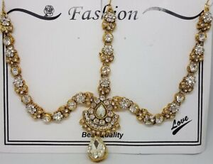 Matha Patti with hair pins Indian Jwellery