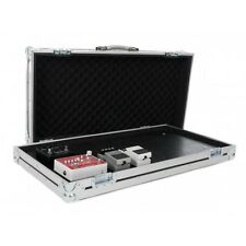 Large Universal Guitar Effect Pedal Board Flight Case with Removable Lid