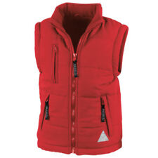 Giacca imbottita rossi casual per bambini dai 2 ai 16 anni