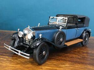 Franklin/Danbury mint 1:24 1929 Rolls-Royce phantom 1 classic vintage model 118