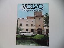 advertising Pubblicità 1983 VOLVO STATION WAGON
