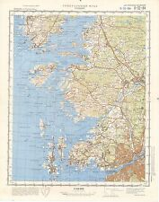 Russian Soviet Military Topographic Maps - GOTEBORG (Sweden) 1:100 000, REPRINT