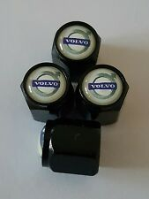 VOLVO Wheel Valve Dust caps BLK deluxe  COLORS ALL MODELS V40 V60 V90 S60 XC60