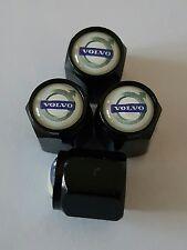 VOLVO Wheel Valve Dust caps BLK deluxe  COLORS ALL MODELS V40 V60 V90 S60 XC60