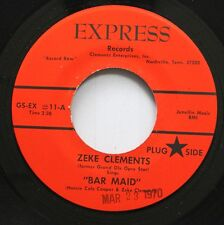 Hear! Country Bopper Tennessee 45 Zeke Clements - Bar Maid / Chained To An Old L