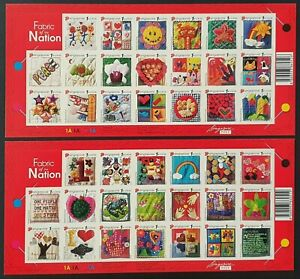 RECENT 2 SHEETS VF MNH SINGAPORE FABRIC OF THE NATION B977.14 START $0.99