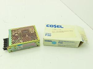 Cosel P30E-12 Power Supply 12V 2.5A 100/240VAC
