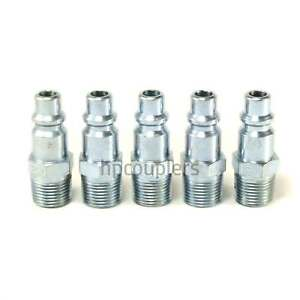 Foster 4 Series Quick Coupler Plug 3/8 Body 3/8 NPT Air and Water Hose Fittings