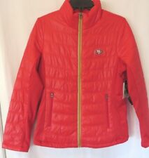 NFL Team Apparel GIII San Francisco 49ers Nylon Puffer Jacket Red Size M #7124