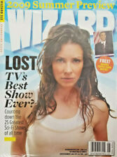 Wizard Magazine June 2009 Lost Tv Evangeline Lilly - Obama Topps Card New Sealed
