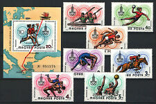 Two In One - Hungary 1980. Olimpic Games Moscow Set + Sheet Garniture Mnh (*)