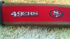 San Francisco 49ers 50 inch Dog Leash NFL Officially Licensed Football Christmas