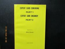 Expert Card Conjuring / Expert Card Chicanery - book - Alton Sharpe