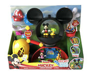 Disney Mickey Mouse Clubhouse Adventures Play Set Pluto Donald Minnie Figure