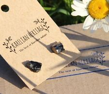 Elite shungite earrings studs stone deals week sale crystal EMF protection stone