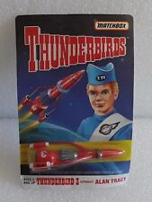 NEW MOC 1994 MATCHBOX THUNDERBIRDS ALAN TRACY ASTRONAUT THUNDERBIRD 3 SPACESHIP