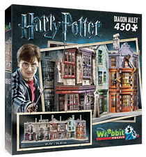 3D Puzzle - Harry Potter - Winkelgasse, 450 Teile, Rowling, Wrebbit