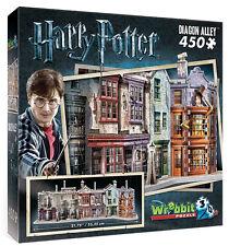 3D Puzzle - Harry Potter - Winkelgasse, 450 Teile, Rowling, Wrebbit