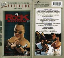 WWE WWF WCW Rock Bottom In Your House Attitude Collection New Wrestling VHS Tape