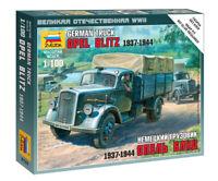 ZVEZDA 6126 Camion militare Opel Blitz esercito tedesco scala 1:100