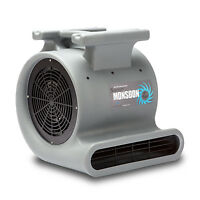 Soleaire Super Monsoon 1HP Air Mover Carpet Dryer Floor Blower Fan Janitorial
