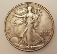 1941 D Walking Liberty Half Dollar, Very Fine